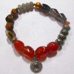Silpada stretch bracelet B3167 one in vermillion